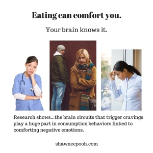 """the same brain circuits that trigger cravings play a substantial part in consumption behaviors linked to comforting negative emotions."""""""